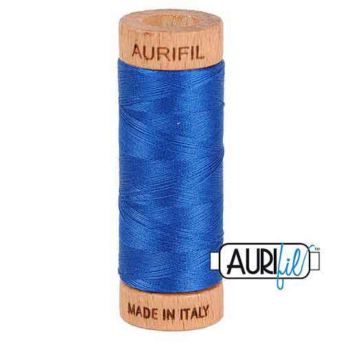 1 Spule Aurifil Minispule 80wt zum klöppeln, nähen, quilten, sticken und für patchwork