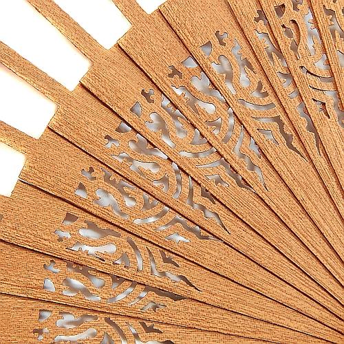 Fächergestell Modell Barcelona, Holzart: Mahagonie, dazu gehört der Klöppelbrief Torchonfächer 1, Entwurf: Marie Luise Prinzhorn, in der Klöppelwerkstatt erhältlich, Abanico, klöppeln, Torchon, Spitze