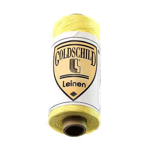 Goldschild farbiges Leinengarn, in der Klöppelwerkstatt erhältlich, zum klöppeln, stricken, häkeln, für die Buchbinderei, Modellbau, sticken, weben, historische Restaurationen und für den Ebenseer Kreuzstich, sehr gut geeignet. Farb-Nr.: 50