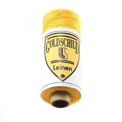 Goldschild farbiges Leinengarn, in der Klöppelwerkstatt erhältlich, zum klöppeln, stricken, häkeln, für die Buchbinderei, Modellbau, sticken, weben, historische Restaurationen und für den Ebenseer Kreuzstich, sehr gut geeignet. Farb-Nr.: 16