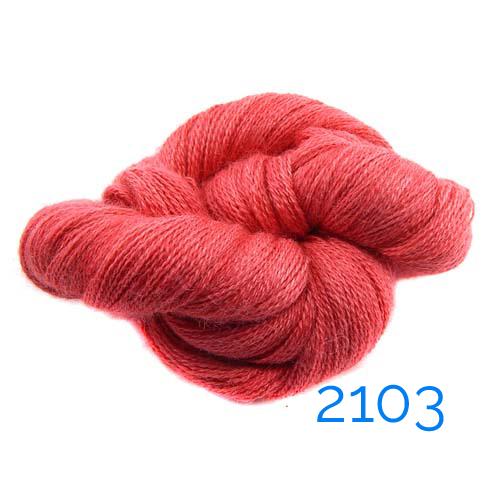 1 Knäuel Manos del Uruguay Lace-Garn multicolor, Farb-nr. 2103