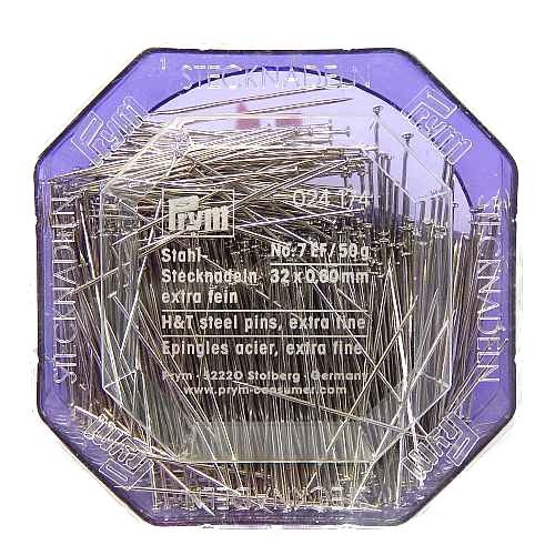prym-stahl-stecknadeln 0,6 mm x 32 mm