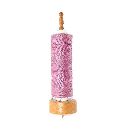 Garnrollenhalter mit Nadel zum Halten der Garnrolle beim Aufwickeln des Garnes - in der Klöppelwerkstatt, klöppeln, stricken, weben, häkeln