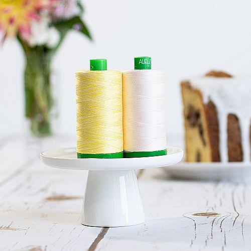 AURIFIL Baumwollgarn-30g Spule , 234 Farben, 4 Stärken, zum Klöppeln, Häkeln, Stricken, Quilten, Nähen, Sticken und für Patchwork, in der Klöppelwerkstatt erhältlich