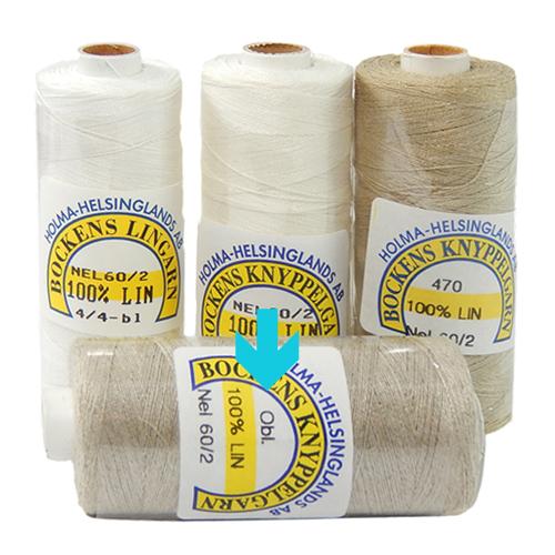 Bockens Leinengarn Nel 60/2, in obl., in der Klöppelwerkstatt erhältlich, zum klöppeln, stricken, häkeln, für die Buchbinderei, Modellbau, Sticken, weben und für den Ebenseer Kreuzstich, sehr gut geeignet.