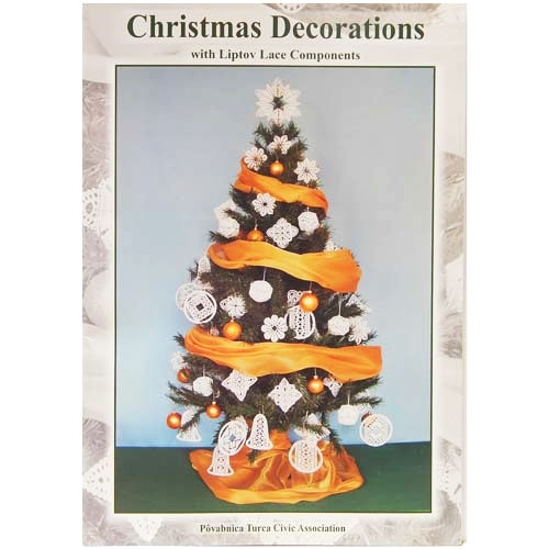 Christmas Decorations with Liptov Lace Components - in der Klöppelwerkstatt erhältlich