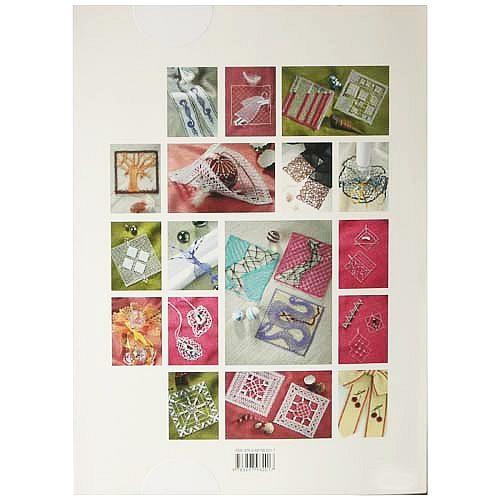 Faszination Klöppeln ~ Buchverlag für die Frau - Klöppelwerkstatt, Ein Mustertuch, Quadrate als Schmuck, Fensterbild oder Dekoration, Rückseite