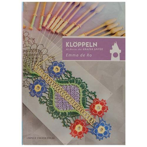 40 Muster der Grazer Spitze ~ Emma de Ro - Klöppelwerkstatt, Grazer Spitze ist eine moderne Variante d. Blumenwerks, ähnelt Florence-Spitze, klöppeln