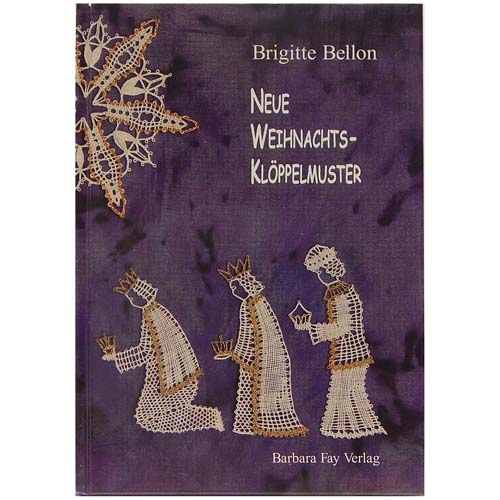 Neue Weihnachts-Klöppelmuster ~ Brigitte Bellon in der Klöppelwerkstatt