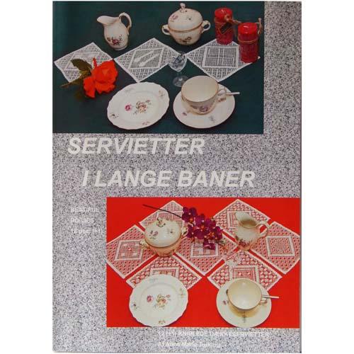 Servietter I Lange Baner ~ Anne Marie Turking in der Klöppelwerkstatt erhältlich