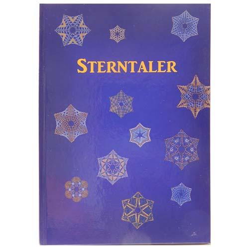 Sterntaler ~ Sylvia Vollmer, in der Klöppelwerkstatt erhältlich, 34 Briefe für Weihnachtssterne in Torchontechnik, klöppeln