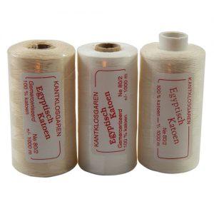 3 rollen Egyptische Baumwolle Ne 80/2