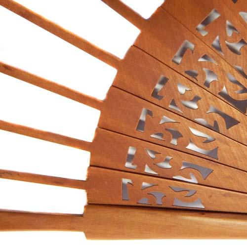 Fächer Modell Ronda Birne für den Artikel: Fächer BS-AB19 und Brief Torchon PR-7
