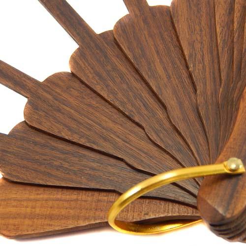 Fächer, Detail, zum Artikel Fächer Modell Alicante und Brief Torchon PR-6