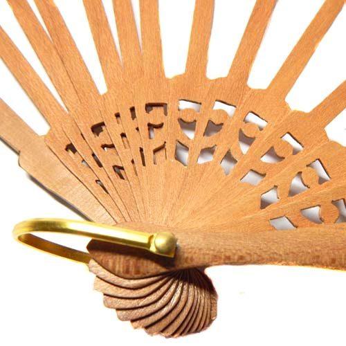 Fächergestell in Peral zum Artikel: Fächer Modell Palma und Brief Torchon PR-4