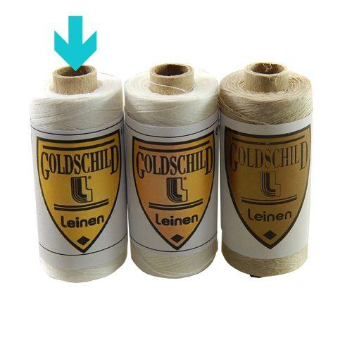 Goldschild Leinengarn Nel 80/3 weiß