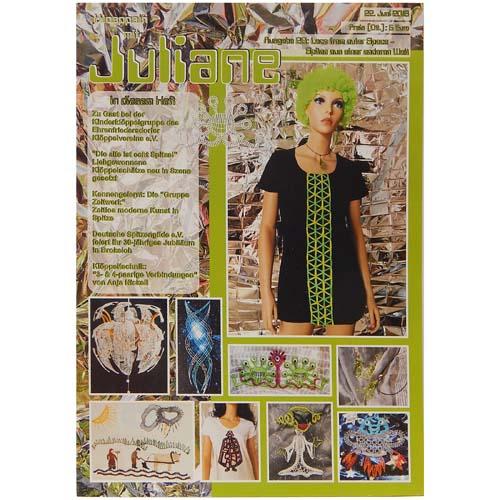 Klöppeln mit Juliane Heft 26 in der Klöppelwerkstatt, Klöppeln, Erzgebirgische Zeitschrift