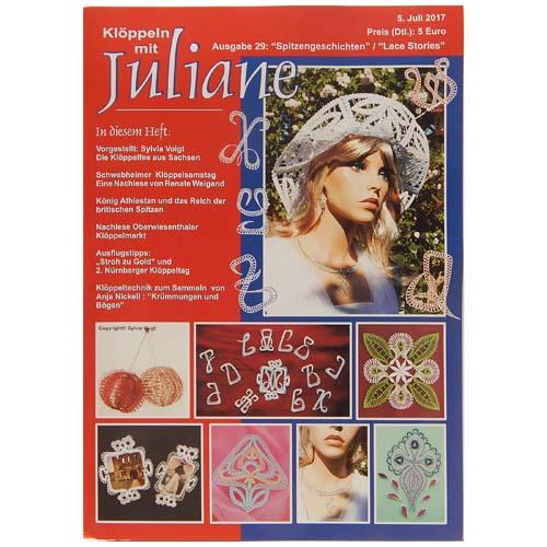 Klöppeln mit Juliane Heft 29 in der Klöppelwerkstatt, Klöppeln, Erzgebirgische Zeitschrift