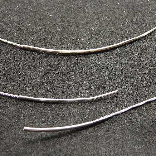Ketten für Kringelschmuck und Wechselrahmen Detail Steckverschluss