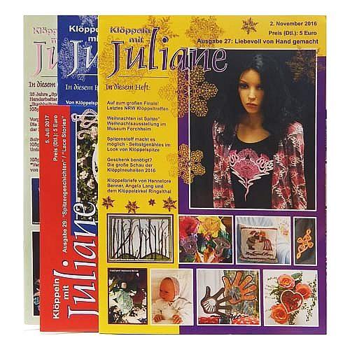 Klöppeln mit Juliane verschiedene Ausgaben