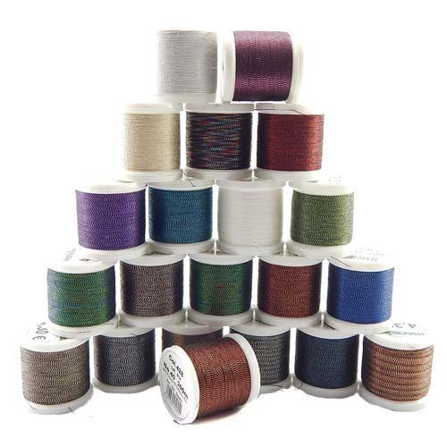 20 Spulen Madeira Metallic No 40 Soft Garn in verschiedenen Farben, zu Sticken, Klöppeln, als Beilaufgarn, in der Klöppelwerkstatt erhältlich