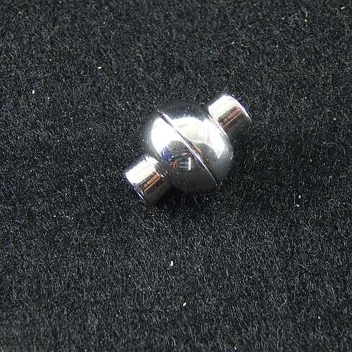 Magnetverschlüsse 14737 und 14750, 4mm rhodiniert