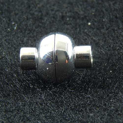 Magnetverschlüsse 14737 und 14750 4mm rhodiniert