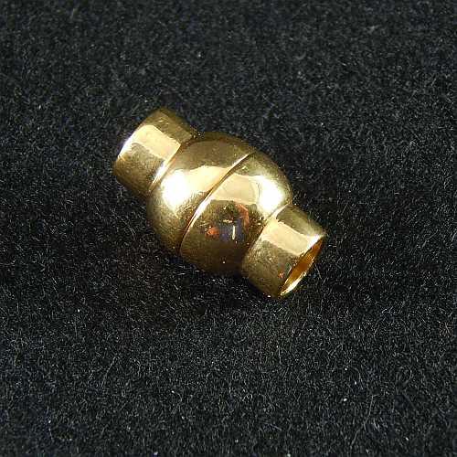 Magnetverschlüsse 14737 und 14750, 6mm vergoldet