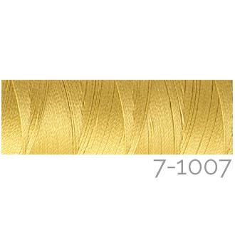 Venne Colcoton 113 Farben, Klöppelwerkstatt, 100% mercerisierte (BIO) Baumwolle zum klöppeln, stricken, weben, häkeln. Minispule mit 180 m Farbe 7-1007