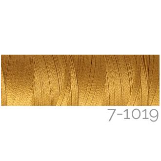Venne Colcoton 113 Farben, Klöppelwerkstatt, 100% mercerisierte (BIO) Baumwolle zum klöppeln, stricken, weben, häkeln. Minispule mit 180 m Farbe 7-1019