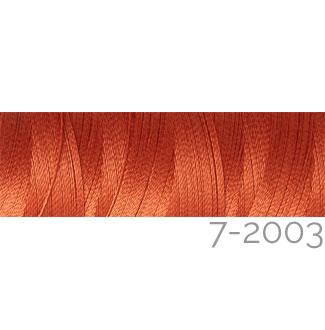 Venne Colcoton 113 Farben, Klöppelwerkstatt, 100% mercerisierte (BIO) Baumwolle zum klöppeln, stricken, weben, häkeln. Minispule mit 180 m Farbe 7-2003