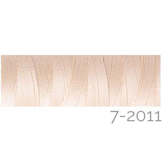 Venne Colcoton 113 Farben, Klöppelwerkstatt, 100% mercerisierte (BIO) Baumwolle zum klöppeln, stricken, weben, häkeln. Minispule mit 180 m Farbe 7-2011