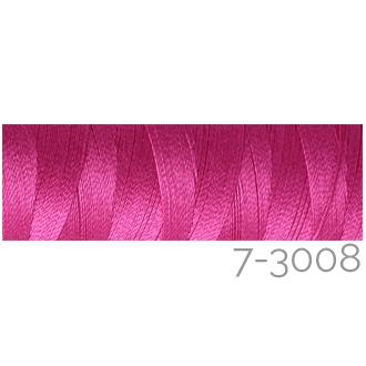 Venne Colcoton 113 Farben, Klöppelwerkstatt, 100% mercerisierte (BIO) Baumwolle zum klöppeln, stricken, weben, häkeln. Minispule mit 180 m Farbe 7-3008
