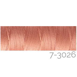 Venne Colcoton 113 Farben, Klöppelwerkstatt, 100% mercerisierte (BIO) Baumwolle zum klöppeln, stricken, weben, häkeln. Minispule mit 180 m Farbe 7-3026