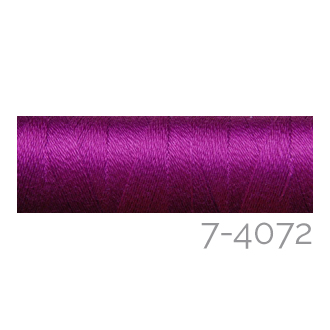 Venne Colcoton 113 Farben, Klöppelwerkstatt, 100% mercerisierte (BIO) Baumwolle zum klöppeln, stricken, weben, häkeln. Minispule mit 180 m Farbe 7-4072