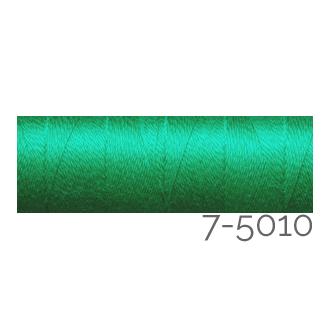 Venne Colcoton 113 Farben, Klöppelwerkstatt, 100% mercerisierte (BIO) Baumwolle zum klöppeln, stricken, weben, häkeln. Minispule mit 180 m Farbe 7-5010