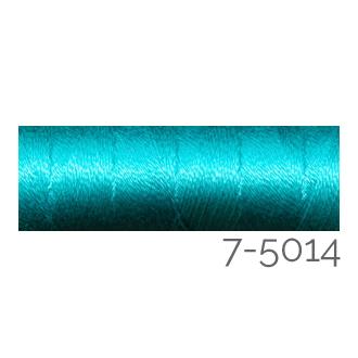 Venne Colcoton 113 Farben, Klöppelwerkstatt, 100% mercerisierte (BIO) Baumwolle zum klöppeln, stricken, weben, häkeln. Minispule mit 180 m Farbe 7-5014