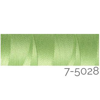Venne Colcoton 113 Farben, Klöppelwerkstatt, 100% mercerisierte (BIO) Baumwolle zum klöppeln, stricken, weben, häkeln. Minispule mit 180 m Farbe 7-5028