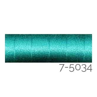 Venne Colcoton 113 Farben, Klöppelwerkstatt, 100% mercerisierte (BIO) Baumwolle zum klöppeln, stricken, weben, häkeln. Minispule mit 180 m Farbe 7-5034