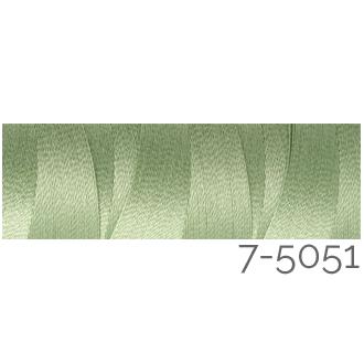 Venne Colcoton 113 Farben, Klöppelwerkstatt, 100% mercerisierte (BIO) Baumwolle zum klöppeln, stricken, weben, häkeln. Minispule mit 180 m Farbe 7-5051