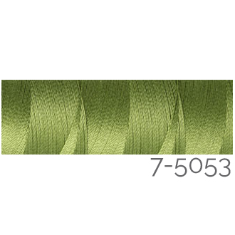 Venne Colcoton 113 Farben, Klöppelwerkstatt, 100% mercerisierte (BIO) Baumwolle zum klöppeln, stricken, weben, häkeln. Minispule mit 180 m Farbe 7-5053
