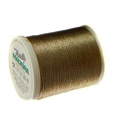 1 Spulen Madeira Metallic Nr 15, in gold 22 300m Lauflänge