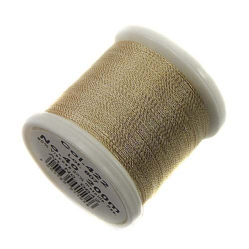 1 Spule Madeira Metallic No 40 Soft Garn in der Farbe gold dust 422