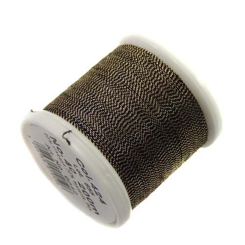 1 Spule Madeira Metallic No 40 Soft Garn in der Farbe antique gold 424