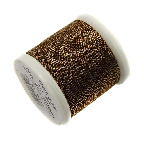 1 Spule Madeira Metallic No 40 Soft Garn in der Farbe sultan gold 425
