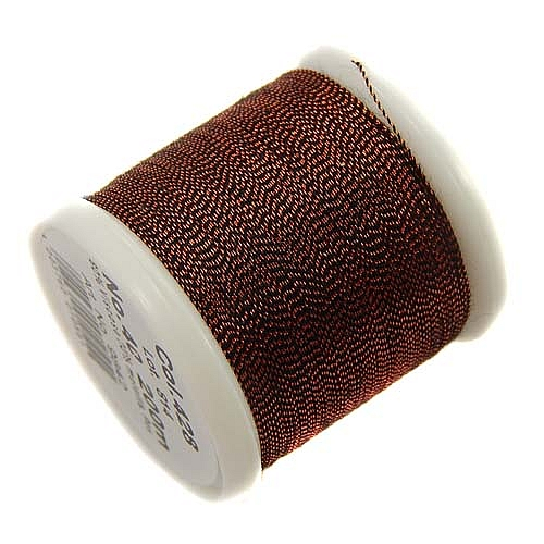 1 Spule Madeira Metallic No 40 Soft Garn in der Farbe copper 428