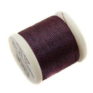 1 Spule Madeira Metallic No 40 Soft Garn in der Farbe Garnet 439