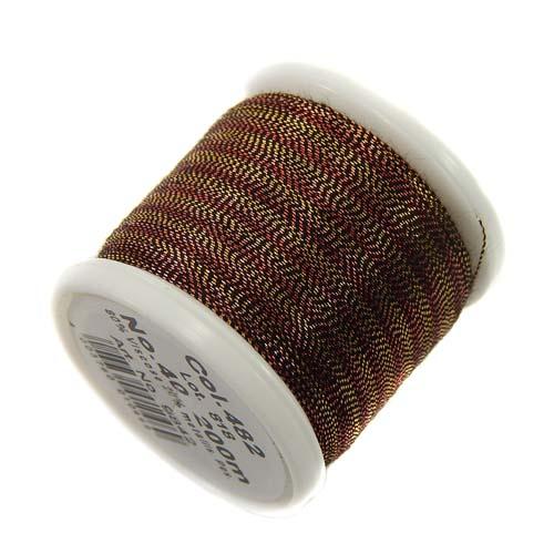 1 Spule Madeira Metallic No 40 Soft Garn in der Farbe tiger eye 482