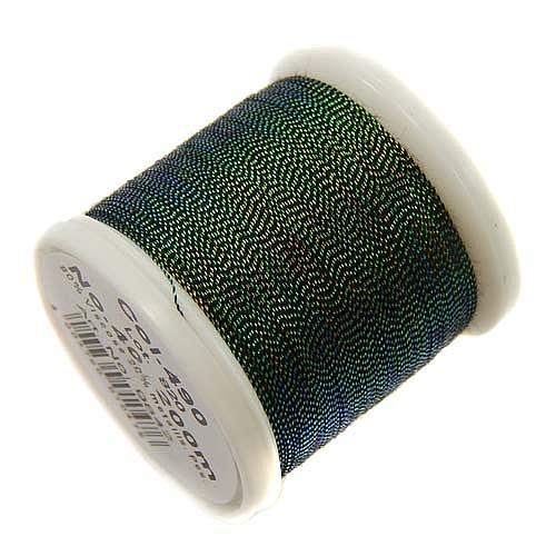 1 Spule Madeira Metallic No 40 Soft Garn in der Farbe opal 490