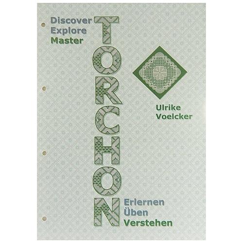 Torchon-Erlernen-Üben-Verstehen, Ulrike Voelcker, in der Klöppelwerkstatt, hier der 3. Teil verstehen